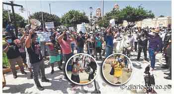 Protestan contra alcaldesa de Ferreñafe, Violeta Muro - Diario Correo