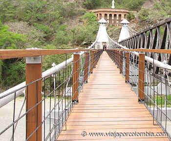 ▷ Fue reinaugurado el Puente de Occidente en Santa Fe de Antioquia - Noticias - Viajar por Colombia