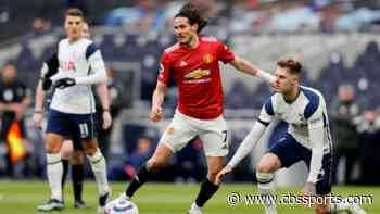 Tottenham vs. Manchester United score: Mourinho's Spurs cough up another lead as Cavani sparks comeback