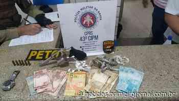 Homem é preso com arma e droga em Itamaraju - PrimeiroJornal - PrimeiroJornal