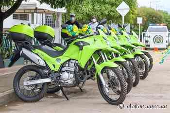 Dotan de motocicletas a Policía de Chiriguaná - ElPilón.com.co