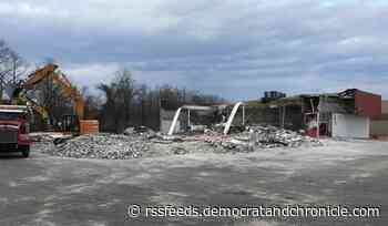 Former Staples in Irondequoit razed for Chick-fil-A