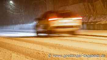 Winterwetter im April: In der Nacht drohen Schnee und Straßenglätte