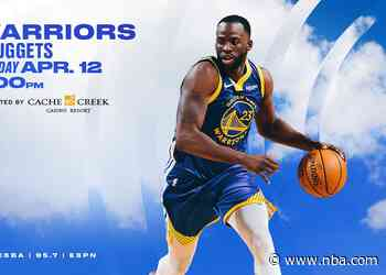 Game Preview: Warriors vs. Nuggets - 4/12/21