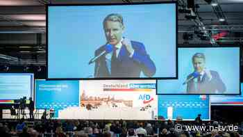 EU-Austritt und Grenzzäune: AfD-Hardliner prägen Wahlkampfprogramm