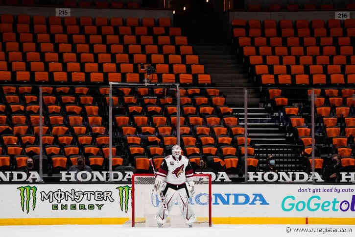 Ducks eager for fans' return to Honda Center after more than a year away