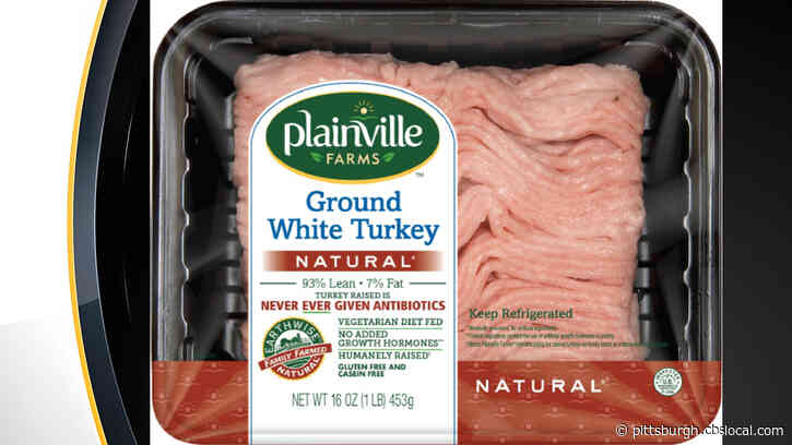 Federal Agency Issues Alert For Raw Ground Turkey Products With Potential Link To Salmonella