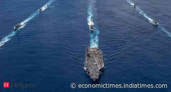 New Delhi objects to US Navy's military moves in Indian seas - Economic Times