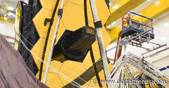 James Webb telescope packs away its massive sunshield to ready for launch