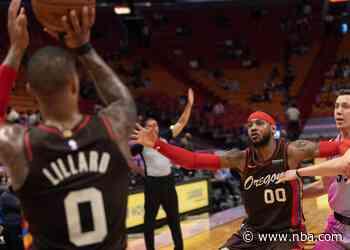 Blazers Host Heat In Second Half Of Weekend Back-To-Back