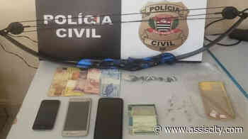 Casal é preso por tráfico de drogas em Rancharia Durante o cumprimento de mandado de busca - Assiscity