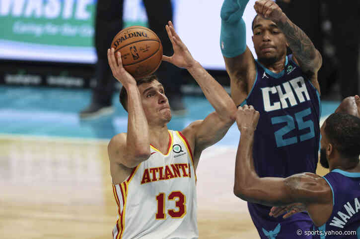 Bogdanovic scores 32 as Hawks beat Hornets 105-101