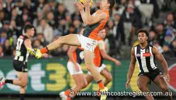 Giants beat Magpies for first AFL win - South Coast Register
