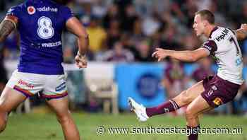 Cherry-Evans field goal ends Manly drought - South Coast Register