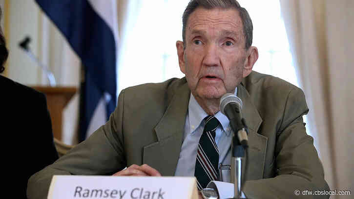 Ramsey Clark, Dallas Native And Former US Attorney General, Dies At 93