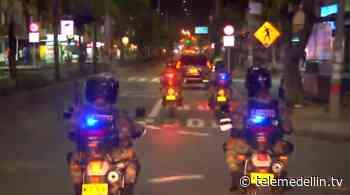 En Itagüí el Ejército acompañó la segunda noche de toque de queda - Telemedellín