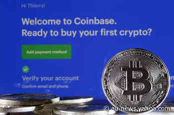 Cryptocurrency platform Coinbase gears up for historic listing - Yahoo News Australia