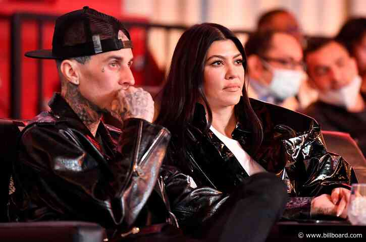 Travis Barker Alludes to Sex Life With Kourtney Kardashian in Not-So-Subtle Instagram Post