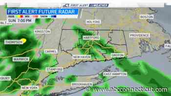 Showers Move Through the State Tonight