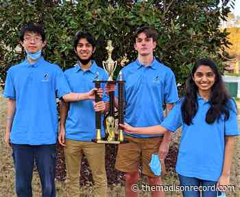 Madison teens' yearlong practice culminates in 2021 State Scholastic Chess Championship - The Madison Record - themadisonrecord.com