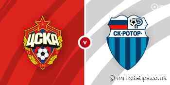 CSKA Moscow vs Rotor Volgograd Prediction and Betting Tips - MrFixItsTips