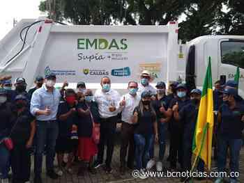 Supía tiene un nuevo vehículo compactador de residuos - BC NOTICIAS - BC Noticias