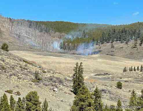 Aircraft Called In To Fight 2-Acre Wildfire Near Keystone