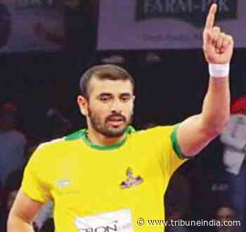 Kabaddi player Ajay Thakur suspended over whereabouts violation - The Tribune India