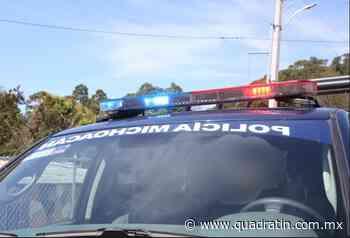 Detienen a 3 por alterar el orden público en Zacapu - Quadratín - Quadratín Michoacán