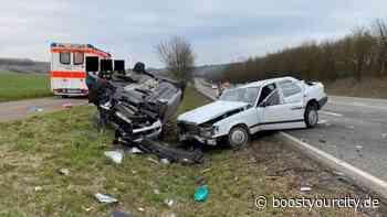 Schwerer Unfall auf der B41 bei Bad Sobernheim - Boost your City | Rhein-Main Nachrichten