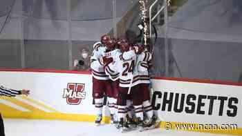 The path to the DI men's ice hockey championship for St. Cloud State and UMass - NCAA.com