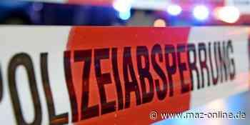 Beifahrerin stirbt bei schwerem Unfall in Kolkwitz - Märkische Allgemeine Zeitung