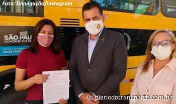 Francisco Morato (SP) compra novo ônibus para o transporte escolar - Adamo Bazani