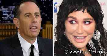 Kesha Reacted To The Incredibly Awkward Video Where Jerry Seinfeld Rejected Her And Now I'm Reliving The Trauma All Over Again - BuzzFeed
