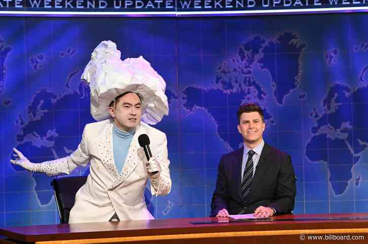 Bowen Yang on 'SNL' as Iceberg Who Sunk the Titanic Goes Viral