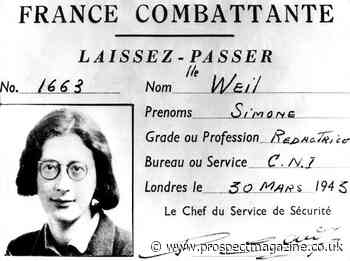 <strong>Simone Weil</strong> produced a fragmentary oeuvre, almost none of which appeared in her lifetime. Her posthumous mythology makes her hard to pin down&nbsp;&nbsp;
