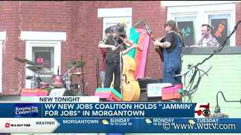 """West Virginia New Jobs Coalition holds """"Jammin' for Jobs"""" - WDTV"""