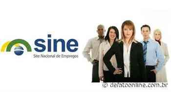 Confira algumas das oportunidades disponíveis no Sine Itabira - DeFato Online