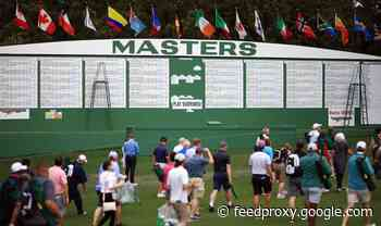 Masters called off for weather: Play resumes after hour delay as storm threat passes