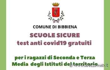 Toscana arancione, il comune di Bibbiena promuove un nuovo screening per i ragazzi della seconda e terza media - ArezzoWeb