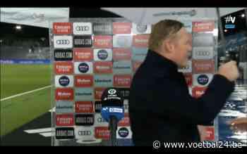 Ronald Koeman gaat door het lint na nederlaag tegen Real Madrid (VIDEO) - Voetbal24.be