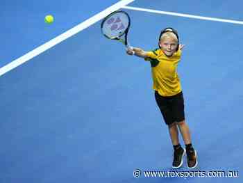 Lleyton Hewitt's son has grown up fast and is already winning titles