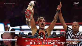 WrestleMania 37 night two live: HISTORY! Australia's first WWE world champion as Adelaide-born Ripley dominates