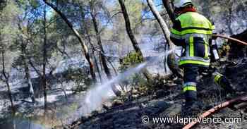 Incendie : à Auriol, le pire a été évité - La Provence