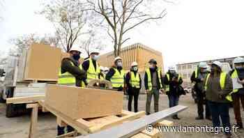 Urbanisme - La réhabilitation de l'ancienne école de Marmiers se poursuit à Aurillac (Cantal) - La Montagne
