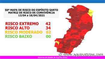 Mimoso do Sul entra para o risco extremo em nova Matriz do Governo do Estado - Aqui Notícias - www.aquinoticias.com