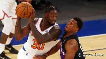 Randle drops 26 as Knicks hang on to beat Raptors
