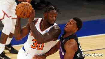 Randle drops 26 as Knicks hang on to beat Raptors