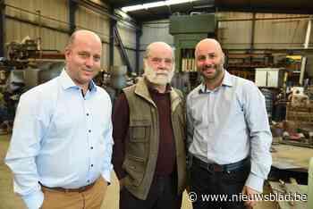 Grootvader Theo begon als machinebouwer, vandaag zorgen kleinzonen Tom (49) en Hans (44) onder meer voor vuurwerk op Tomorrowland<BR />