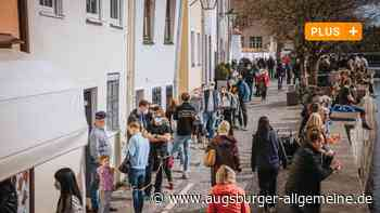 Frühlings-Wochenende in Landsberg: Das Chaos bleibt dieses Mal aus - Augsburger Allgemeine